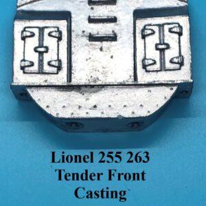 255 263 Tender Front