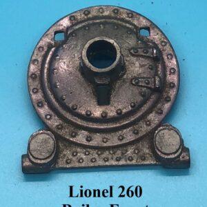 260 Boiler Front