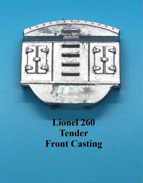 260 Tender Front