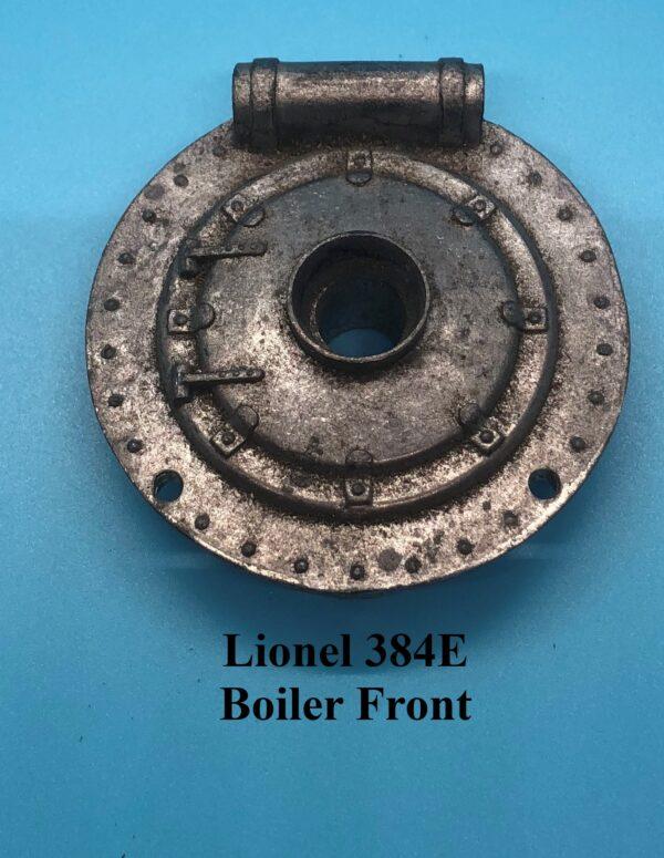 384E Boiler Front