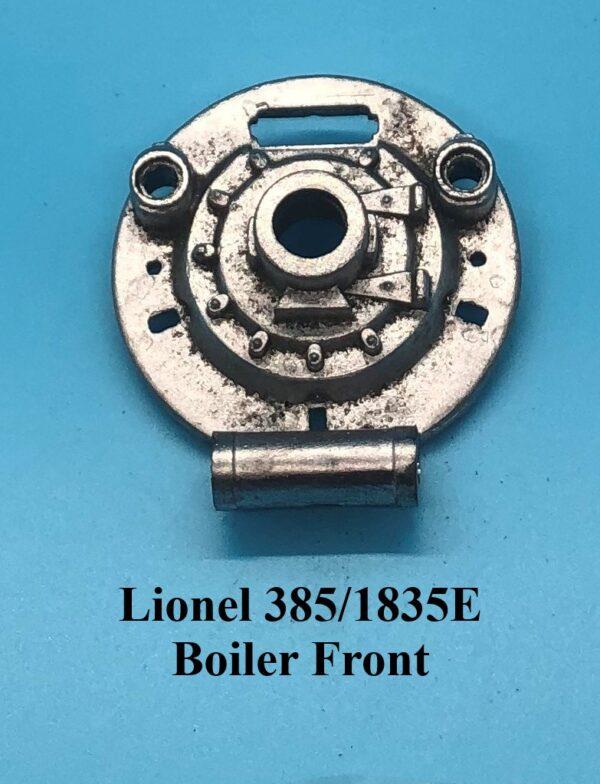 385 1835E Boiler Front