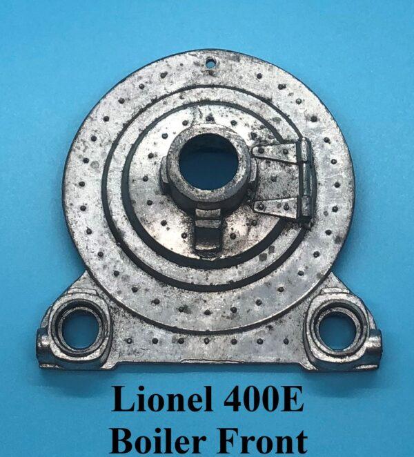 400E Boiler Front
